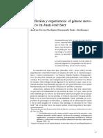 Andrea Torres Perdigón - Reflexión y experiencia_ el género novelesco en Juan José Saer