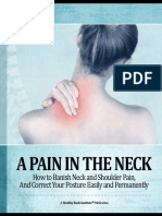 Neck pain - bolovi u vratu