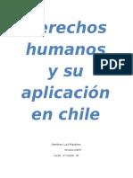 Derechos humanos y su aplicación en chile