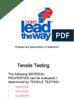 Tensile Testing