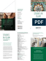STUDIES IN ISLAM