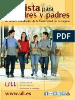 Guía madres y padres Futuros Alumnos de La ULL Curso 2016-2017