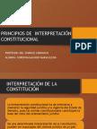 Principios de Interpretacion Constitucionalimpreso