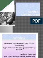 Garments Construction