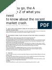 A to Z the recent market crash James Altucher.docx