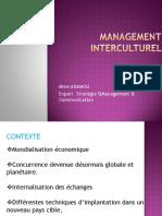 Management Interculturel Grh Master 2016