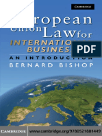 Bernard Bishop-European Union Law for International Business_ An Introduction (2009).pdf
