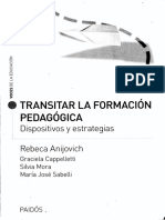 Transitar La Formación Pedagógica Cap 4