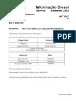 Plano de teste bba injetora Aft 2007