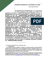 Acuerdos Preventivos Abusivos o en Fraude a La Ley - Richard