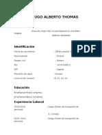 Hugo Alberto Thomas Jeldes