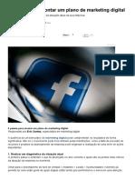 Um Plano de Marketing Digital