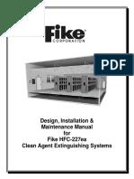 Cover - HFC-227ea Design Manual - Rev A