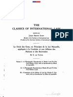 The Classics of International Law