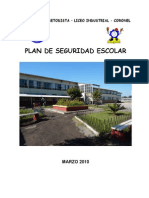 Plan de Seguridad Escolar