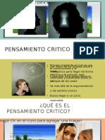 Presentacion Pensamiento Crítico Apoyo