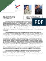 Prendergast Biography[1]