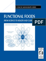Functional Foods From Science to Health and Claims