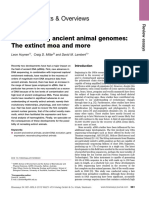 Artigo 3 -Resurrecting Ancient Animal Genomes