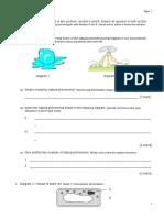 Mid Year - Science Form 1, Smk Senaling