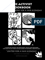 United for a Fair Economy - The Activist Cookbook - Creative Actions for a Fair Economy