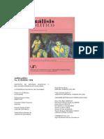 Revista Análisis político número 23.pdf