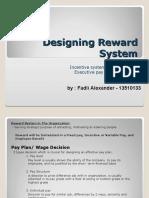 Designing Reward System_Fadli Alexander-13510133