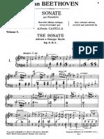 LvBeethoven Sonate Per Pianoforte Vol1 ACasella