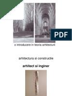 o Introducere in Teoria Arhitecturii