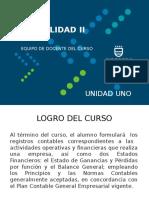 Contabilidad II - Unidad I Ciclo 2016-I