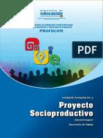 PROYECTO SOCIO PRODUCTIVO Uf 9 Regular 2016