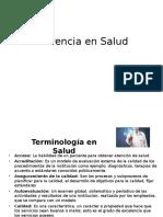 Gerencia en Salud-Terminología en Gerencia en Salud