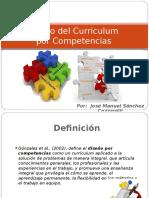 Diseño Curricular Por Competencias