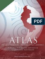 Atlas de las dinamicas del territorio andino