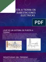 Puesta a Tierra en Subestaciones Eléctricas