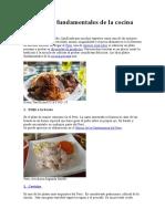Diez platos fundamentales de la cocina peruana.doc