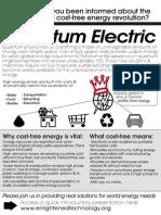No-Grid Cost-Free Quantum Electric - FP Handout
