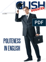 Politeness in English