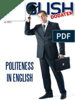 Politeness in English