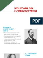 La Evolución Del Efecto Fotoeléctrico