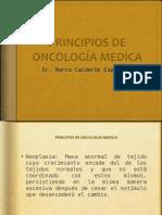 Oncología - Principios de Oncología Médica