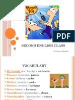 Second English Class (1)