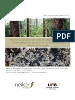 Efectos de la aplicación de cenizas de caldera de biomasa en el modelo jerárquico de agregación de un suelo forestal bajo condiciones oceánicas. de La Aplicación de Cenizas de Caldera de Biomasa