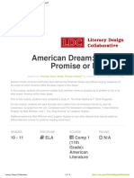american dream  reality  promise or illusion