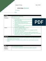 campos sainz flt807 activitydesignproject