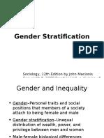 Chapter13 Gender Stratification