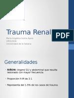Trauma Renal