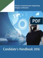 2016 WCET Candidates Handbook