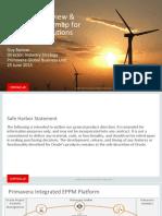 Solution Overview & Strategic Roadmap for Primavera Solutions