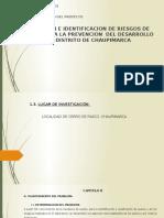 EVALUACIÓN E IDENTIFICACIÓN DE RIESGOS DE SUELO